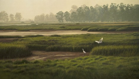 LOW TIDE, 24×42 (sold)
