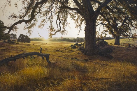 HUTCHINSON RANCH, 24×36 (sold)