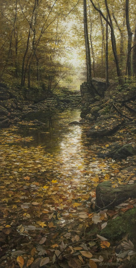 OLD MILL CREEK, 30×15 (sold)