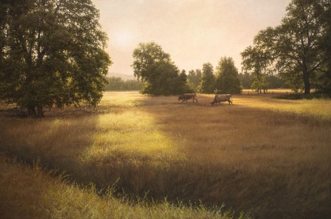 MORNING GRAZERS, 24×36 (available at Sugarman-Peterson Gallery, Santa Fe)