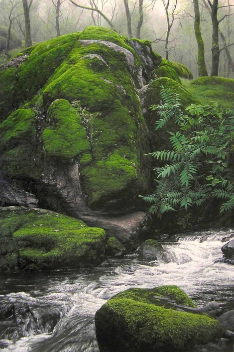 FOOTHILL SPRING, 36×24 (sold)
